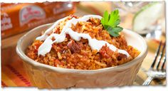 Rice and Chorizo | V&V Supremo