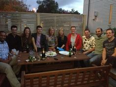 Some of the Auckland team.