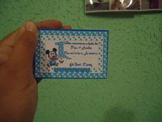 Convite Disney Baby