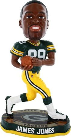 Green Bay Packers James Jones Bobblehead 228f99fff