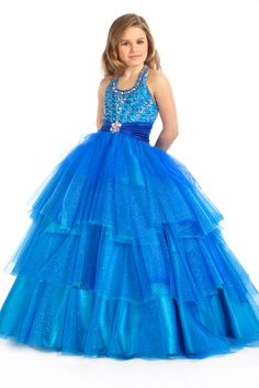long pageant dresses for girls - Bing Images