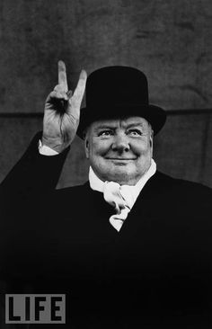 Winston Churchill, from our gallery: 20 Legends Who Shook The World
