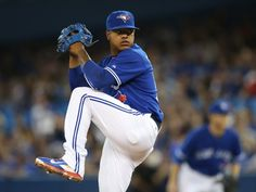 Now healthy and ready to roll for Spring Training in the Stroman appears poised to become one of baseball's next true aces. Baseball Posters, Baseball Boys, Marcus Stroman, Basketball Goals, Toronto Blue Jays, Texas Rangers, Sports News, Mlb, Athletes