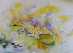 Very cute! gecko.