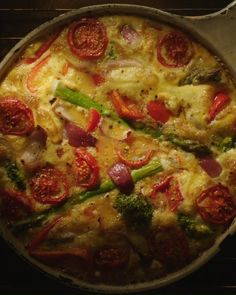 Low Carb Recipes, Vegetarian Recipes, Cooking Recipes, Best Breakfast Recipes, Great Recipes, All Recipes Cookies, Dessert Recipes, Baked Omelette, Frittata