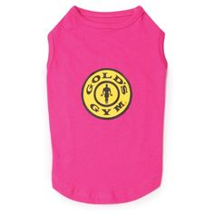 Gold's Gym Cotton Dog Tank Top, X-Large, 24-Inch, Raspberry => Remarkable product available now. : Dog shirts