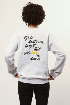 Us here at Valentín just wanted to tell you all to live with passion. Oh, and P.S. Dont Forget You Love To Dance! Subtle in the front, with fun in the back! Ge