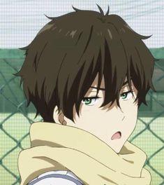 precious little grumpy face Cool Anime Guys, Sad Anime, Kawaii Anime, Manga Anime, Anime Art, Onii San, Hyouka, Anime Profile, Japanese Artists