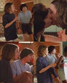 I'm convinced that mike and el spent every day for six months kissing in her room all day everyday😂😂😂😂 Stranger Things Actors, Stranger Things Aesthetic, Stranger Things Season 3, Eleven Stranger Things, Stranger Things Netflix, Best Tv Shows, Best Shows Ever, Millie Bobby Brown, Fandoms