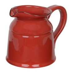 Turino Red Ceramic Pitcher, 90 oz. | Kirklands