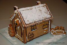 CIOCCOGALA : Aspettando Natale: La casetta di pan di zenzero