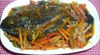Escabeche Tilapia Recipe