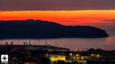 Izola, winter sunset...