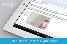 10 Email signatures - modern items  @adobeResources