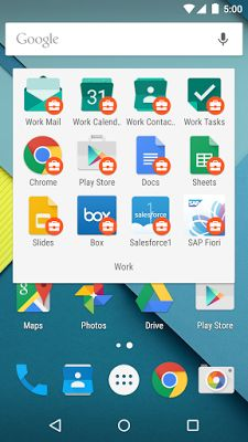 Android está listo para el trabajo