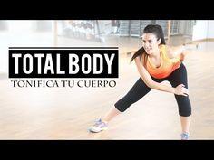 RUTINA PARA TONIFICAR TODO EL CUERPO Y QUEMAR GRASA| TOTAL BODY 10' - YouTube