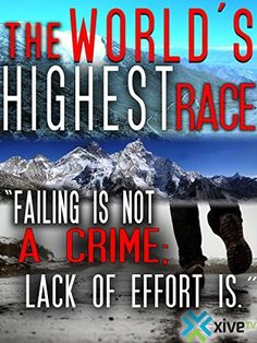 The World's Highest Race Running Movies, Amazon Instant, Ultra Marathon, Amazon Video, Instant Video, Prime Video, Racing, English, World