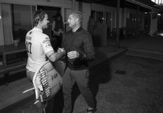 Mick checks in with Julian to make sure hes all rightafter the shark incident.