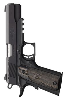 Browning 1911-22 Black Label Full Size Pistol w/Rail $639 MSRP High strength/light weight A1 polymer frame with Picatinny rail, black laminated and stippled grips, checkered front strap, commander hammer, beavertail grip safety, extended slide release.