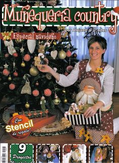munequeria country 7 - Marcia M - Picasa Web Albums Christmas Books, All Things Christmas, Christmas Crafts, Book Crafts, Crafts To Make, Crafts For Kids, Hand Crafts, Craft Books, Sewing Magazines