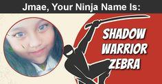 What Is Your Ninja Name ? Ninja Name, Shadow Warrior, Names