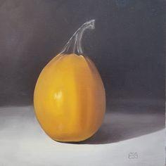 """Pumpkin No by Elaine Brady Smith Gcse Exams, Life Paint, Still Life, Pumpkin, Painting, Buttercup Squash, Pumpkins, Painting Art"