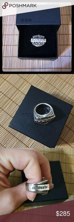 Thierry Martino Ring HD Thierry Martino ring. Womens. Topaz across shield. Size 6. Harley-Davidson Jewelry Rings