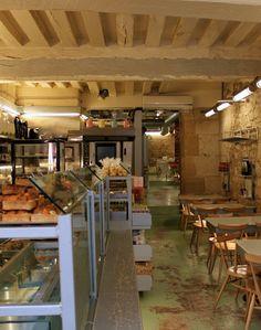 Munch your brunch. Bakery Cafe, Cafe Restaurant, Rose Bakery, Opening A Cafe, Restaurants, Paris Flea Markets, Coffee Places, Cafe Bistro, Paris Images