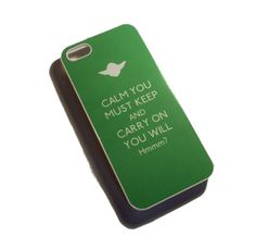 iPhone 5 Star Wars Yoda inspired Keep Calm case. £9.00, via Etsy.