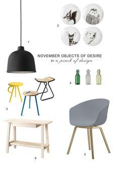 board / November Objects of Desire