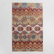 Jaipur Stripe Tufted Wool Area Rug