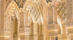 alhambra palace interior - Google Search