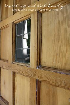 How To Remove Paint From Wood. Stripping Paint From WoodRemove Varnish From  WoodDoor ...