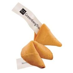 Custom Message Bulk Fortune Cookies-Set a fortune of success! These cookies can have your custom message printed inside on the fortune paper. Fortune Cookie Messages, Custom Fortune Cookies, Custom Cookies, 30 Gifts, Food Gifts, Swag Ideas, Thing 1, Foil Stamping, Food And Drink