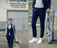 Get this look: http://lb.nu/look/8295843  More looks by Oliver Lips: http://lb.nu/oliverlips  Items in this look:  Z Zegna Suit, Z Zegna Chukka Boots   #artistic #chic #elegant #lipsbrothers