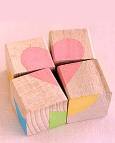 To solve the mystery posed by a puzzle made of blocks, kids must investigate relationships between shapes and colors.