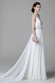 Dan  Corina Lecca Photography, Marchesa, Spring 2013... if I were ever to be married, this would be the dress. Gorgeous.