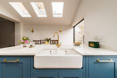 We love that every angle of this kitchen by offers something a little different to catch the eye, with so many amazing details. Fitted with a mixture of our Bromwich cabinet pulls and Metro cabinet knobs both in a satin brass finish. Brass Cabinet Hardware, Cabinet Knobs, Toddler Proofing, Victorian Kitchen, Design Your Kitchen, Studio Kitchen, Bespoke Kitchens, Kitchen Pantry, Kitchen Ideas