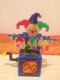 cajita de arlequin hama beads