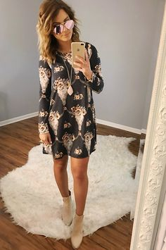 PREORDER: No Stopping Us Dress: Multi