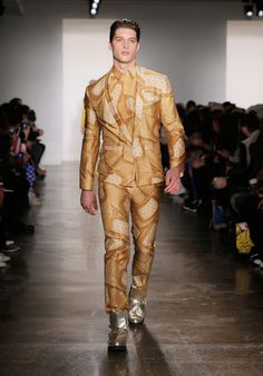 He also masterminded this…Band-Aid suit? | A Jeremy Scott Fast Food-Inspired Outfit Could Get You 650 Big Macs