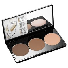 SMASHBOX - Step-By-Step Contour Kit: A contouring kit that teaches you how to sculpt, shape, and define your features with three shades for defining, bronzing, and highlighting any complexion.  #Sephora #makeup #contour