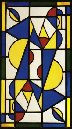Theo Van Doesburg - along with Piet Mondrian- founded the De Stijl movement