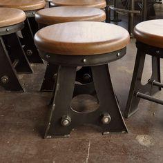 A Frame Bar Stool   Vintage Industrial Furniture