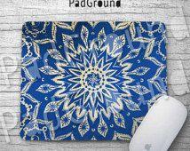 Mandala, tapis de souris ordinateur personnalisé, Vintage Mandala, minorité Totem, caoutchouc naturel souple en tissu support de tapis de souris - MA01