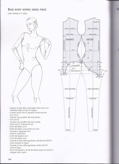 PDF sewing pattern one piece swimsuit for women Swimsuit Pattern, Bra Pattern, Pants Pattern, Pattern Books, Barbie Patterns, Pdf Sewing Patterns, Clothing Patterns, Techniques Couture, Sewing Techniques