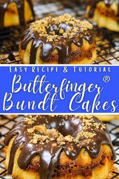 Mini Butterfinger® Bundt Cake Recipe