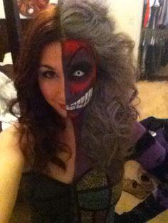 2011 two face makeup!