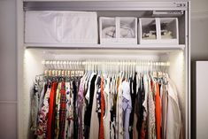 6 Closet Organization Tips I Learned Straight From an Ikea Pro