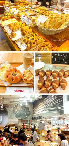 Muji Cafe in Ginza. its attached to a stationary/clothing/furniture store